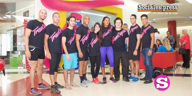 Parte de los entrenadores que forman el equipo TranCycle